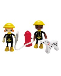 (HP3009) Hape, Happy Fireman