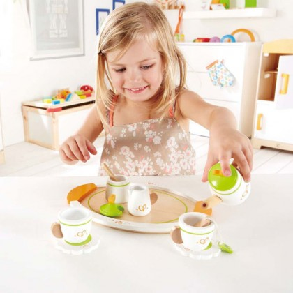 (HP3124) Hape, Tea Set For Two