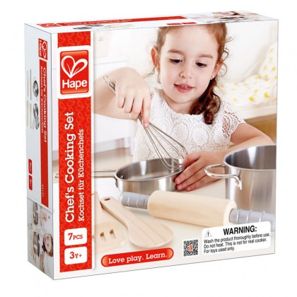 (HP3137) Hape, Chef's Cooking Set