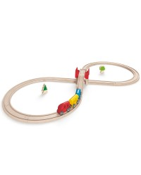 (HP3700) Hape, Figure Eight Railway Set