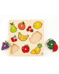 (HP6317) Hape, Fruit Knob Puzzle