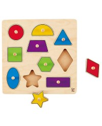 (HP6320) Hape, Geometric Shape Puzzle