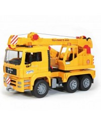 (BRU02754) Bruder, MAN TGA Crane Truck Without Light And Sound Module