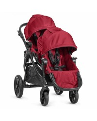 (BJ23436+BJ03436) Baby Jogger, City Select With Second Seat (Red)