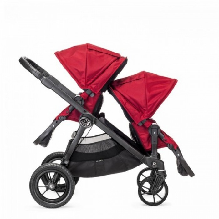 Bj23436 Bj03436 Baby Jogger City Select With Second Seat Red