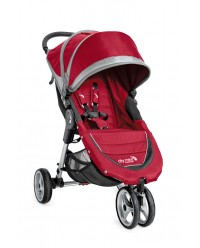 Baby Jogger, City Mini Single - Crimson/Gray (BJ11436)