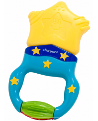 (Y1479) The First Years, Star Power Massaging Teether 6M+