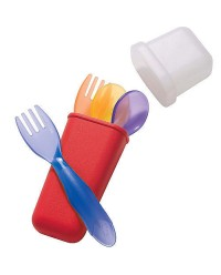 (Y4405) The First Years, Take & Toss Travel Set 9M+