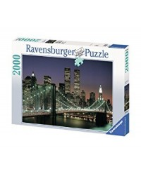 (R166091) Ravensburger, Brooklyn Bridge And Manhattan 2000pcs