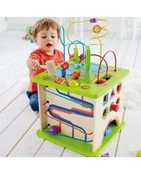 (HP1810) Hape, Country Critters Play Cube