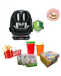 (GR8BB00CVO) Graco, 4Ever Extend2Fit Car Seat - Clove