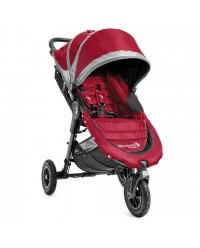 Baby Jogger, City Mini GT Single - Crimson/Grey (BJ15436)