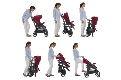 (ING3538DNMTS) Inglesina, Trilogy Travel System - Denim