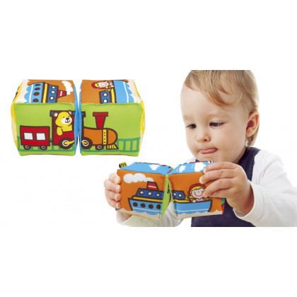 (KA10756) K's Kids, Match And Sound Blocks - Vehicles