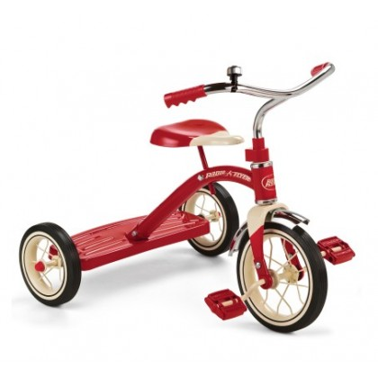 """(RF34B) Radio Flyer, Classic Red - 10"""" Tricycle"""