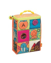 (BX1368Z) B. Toys, ABC Block Party - 6pcs