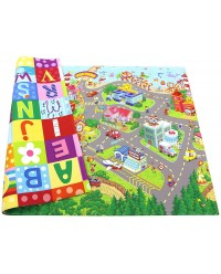 Baby Care, PVC Playmat - Zoo Town