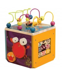 (BX1369Z) B. Toys, Underwater Zoo Activity Cube