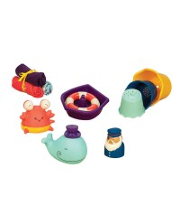 (BX1568Z) B. Toys, Tub Time Set
