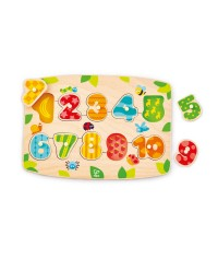 (HP1404) Hape, Number Peg Puzzle