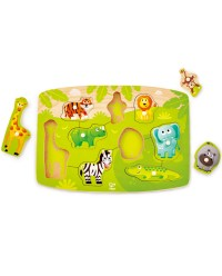 (HP1405) Hape, Jungle Peg Puzzle