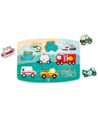 (HP1406) Hape, Emergency Peg Puzzle