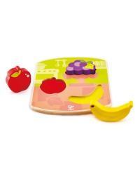 (HP1453) Hape, Chunky Fruit Puzzle