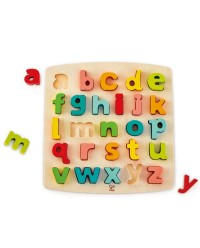 (HP1552) Hape, Chunky Lowercase Puzzle