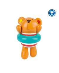 (HP0204) Hape, Swimmer Teddy Wind-Up Toy