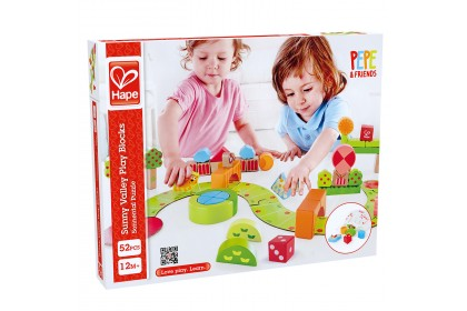 (HP0449) Hape, Sunny Valley Play Blocks