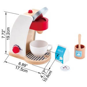 (HP3146) Hape, My Coffee Machine