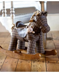 (LB3018) Little Bird Told Me, Rufus & Ted Rocking Horse