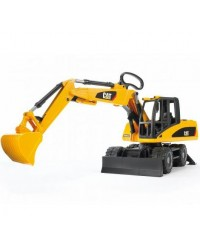 (BRU02445) Bruder, Cat Wheel Excavator