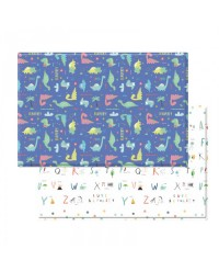 (BCP@GD-2100x1400x13mm) Baby Care, PVC Playmat - Good Dinosaurs