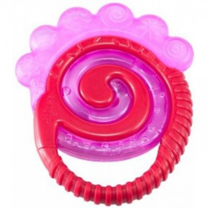 (DF8201-Red) Difrax, Combi Teether - Cooled