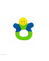 (Y1453-Green) The First Years, Bristle Buddy Teething Toy 3M+