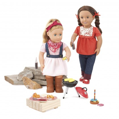 (BD37212Z) Our Generation, Barnyard BBQ Party Set
