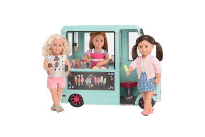 (BD37252Z) Our Generation, Sweet Stop Ice Cream Truck