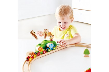 (HP3825) Hape, Music & Monkey Railway