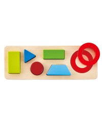 (HP1615) Hape, Geometry Puzzle