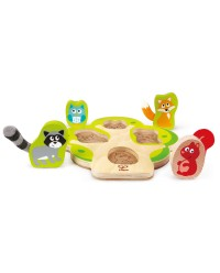 (HP1616) Hape, Who's in The Tree Puzzle