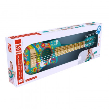 (HP0600) Hape, Flower Power Guitar