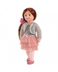 (BD31008Z) Our Generation, Doll With Frilly Skirt - Ayla
