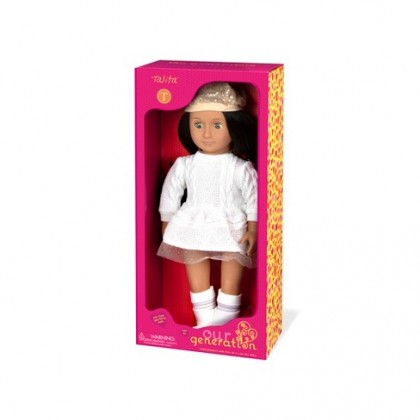 (BD31140D) Our Generation, Doll With Dress & Hat - Talita