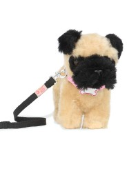 "(BD37762GTZ) Our Generation, 6"" Standing Puppy Assortment - Pug"