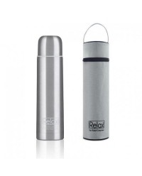 (D2010) Relax, 18.8 Stainless Steel Thermal Flask 1L