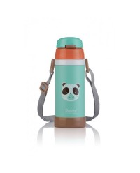(D2636-03) Relax, 18.8 Stainless Steel Thermal Flask 0.36L - Green