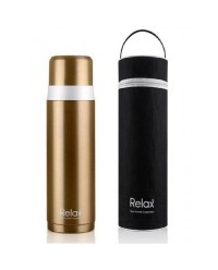 (D2950) Relax, 18.8 Stainless Steel Thermal Flask 0.5L