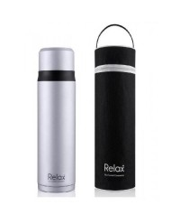 (D2975) Relax, 18.8 Stainless Steel Thermal Flask 0.75L