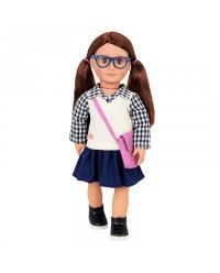 (BD31153Z) Our Generation, Doll With School Outfit - Adria